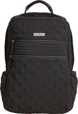 Vera Bradley Tech Backpack -Solids Black - Vera Bradley Laptop Backpacks