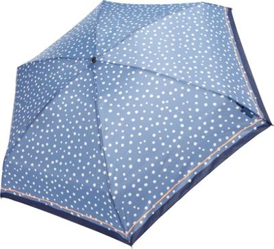 Knirps Travel Umbrella Flakes Blue - Knirps Umbrellas and Rain Gear