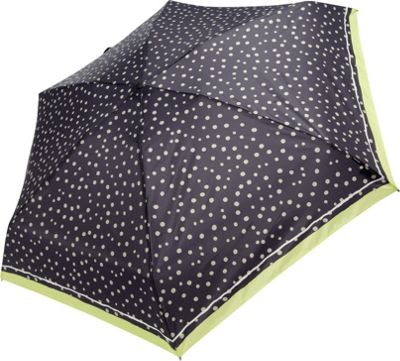 Knirps Knirps Travel Umbrella Flakes Black - Knirps Umbrellas and Rain Gear