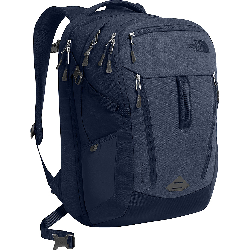 The North Face Surge Laptop Backpack - 15 Urban Navy/Light Heather - The North Face Business & Laptop Backpacks - Backpacks, Business & Laptop Backpacks