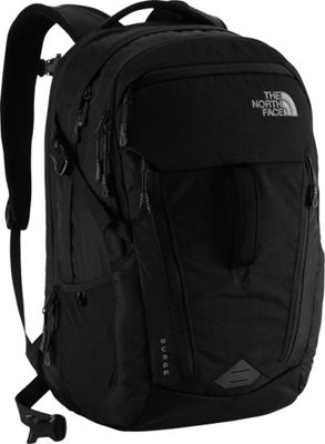The North Face Surge Laptop Backpack - 15 inch TNF Black - The North Face Business & Laptop Backpacks