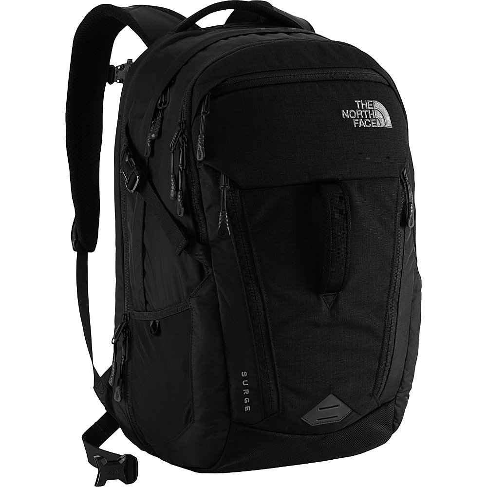 The North Face Surge Laptop Backpack TNF Black The North Face Business Laptop Backpacks