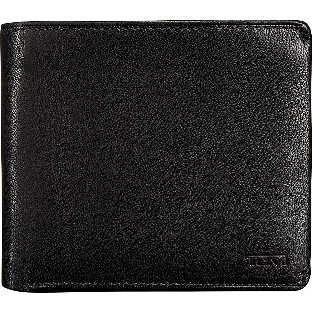 Tumi Chambers Global Center Flip ID Passcase Black Tumi Men s Wallets