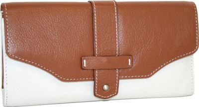 Nino Bossi My New Big Wallet Bone - Nino Bossi Designer Handbags