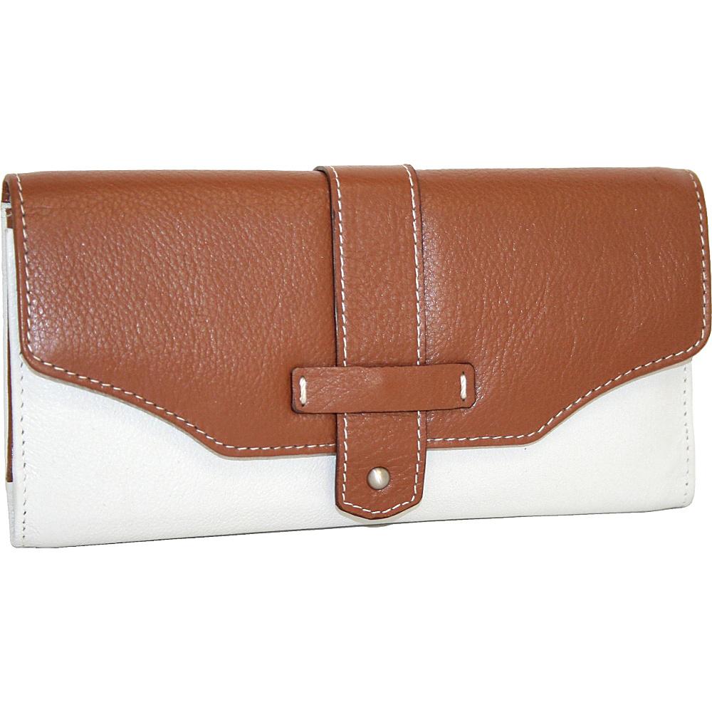 Nino Bossi My New Big Wallet Bone Nino Bossi Women s Wallets
