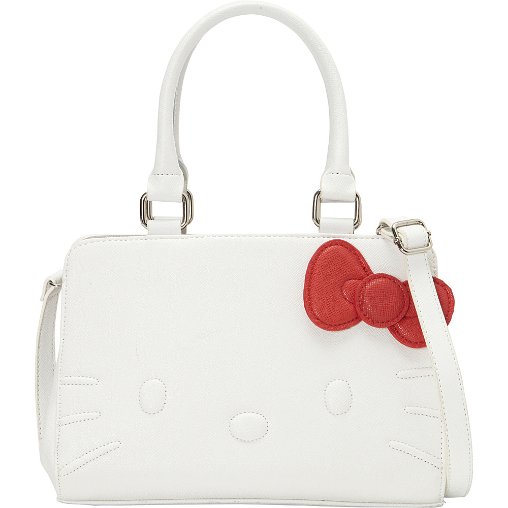 bac125885bf9 Loungefly Hello Kitty White Quilt Walking Stitch Face Bag White - Loungefly  Manmade Handbags - 10358165 by Loungefly