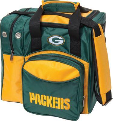 KR Strikeforce Bowling NFL Single Bowling Ball Tote Bag Green Bay Packers - KR Strikeforce Bowling Bowling Bags