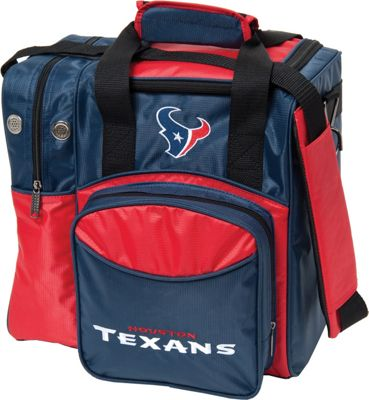 KR Strikeforce Bowling NFL Single Bowling Ball Tote Bag Houston Texans - KR Strikeforce Bowling Bowling Bags