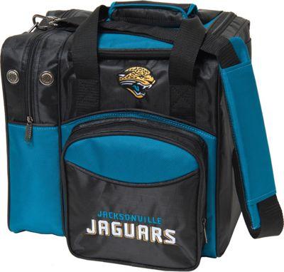 KR Strikeforce Bowling NFL Single Bowling Ball Tote Bag Jacksonville Jaguars - KR Strikeforce Bowling Bowling Bags
