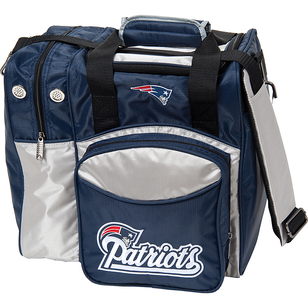 KR Strikeforce Bowling NFL Single Bowling Ball Tote Bag New England Patriots KR Strikeforce Bowling Bowling Bags