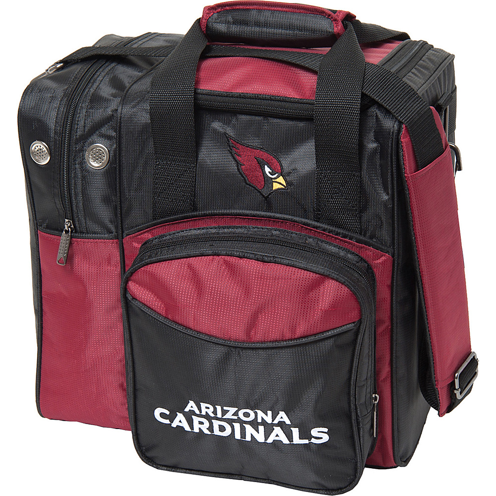 KR Strikeforce Bowling NFL Single Bowling Ball Tote Bag Arizona Cardinals KR Strikeforce Bowling Bowling Bags
