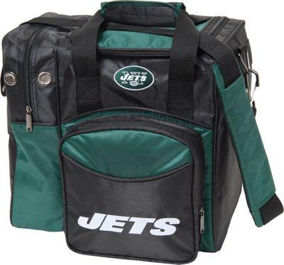 KR Strikeforce Bowling NFL Single Bowling Ball Tote Bag New York Jets - KR Strikeforce Bowling Bowling Bags