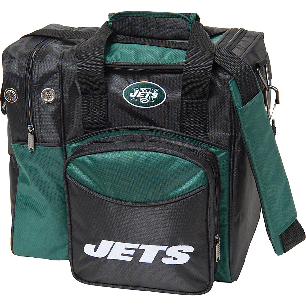 KR Strikeforce Bowling NFL Single Bowling Ball Tote Bag New York Jets KR Strikeforce Bowling Bowling Bags