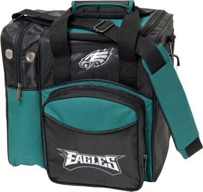 KR Strikeforce Bowling NFL Single Bowling Ball Tote Bag Philadelphia Eagles - KR Strikeforce Bowling Bowling Bags