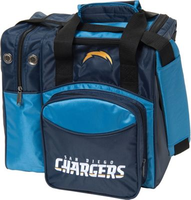 KR Strikeforce Bowling NFL Single Bowling Ball Tote Bag San Diego Chargers - KR Strikeforce Bowling Bowling Bags
