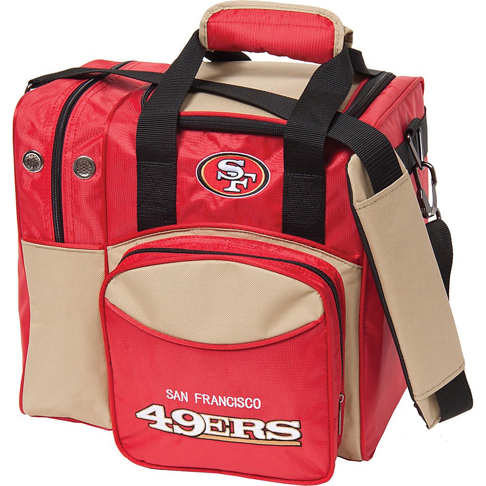 KR Strikeforce Bowling NFL Single Bowling Ball Tote Bag San Francisco 49ers KR Strikeforce Bowling Bowling Bags