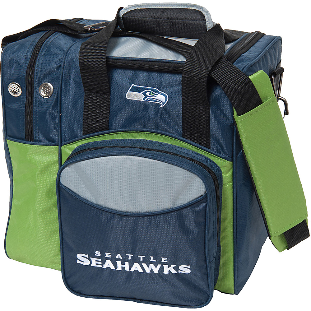 KR Strikeforce Bowling NFL Single Bowling Ball Tote Bag Seattle Seahawks KR Strikeforce Bowling Bowling Bags