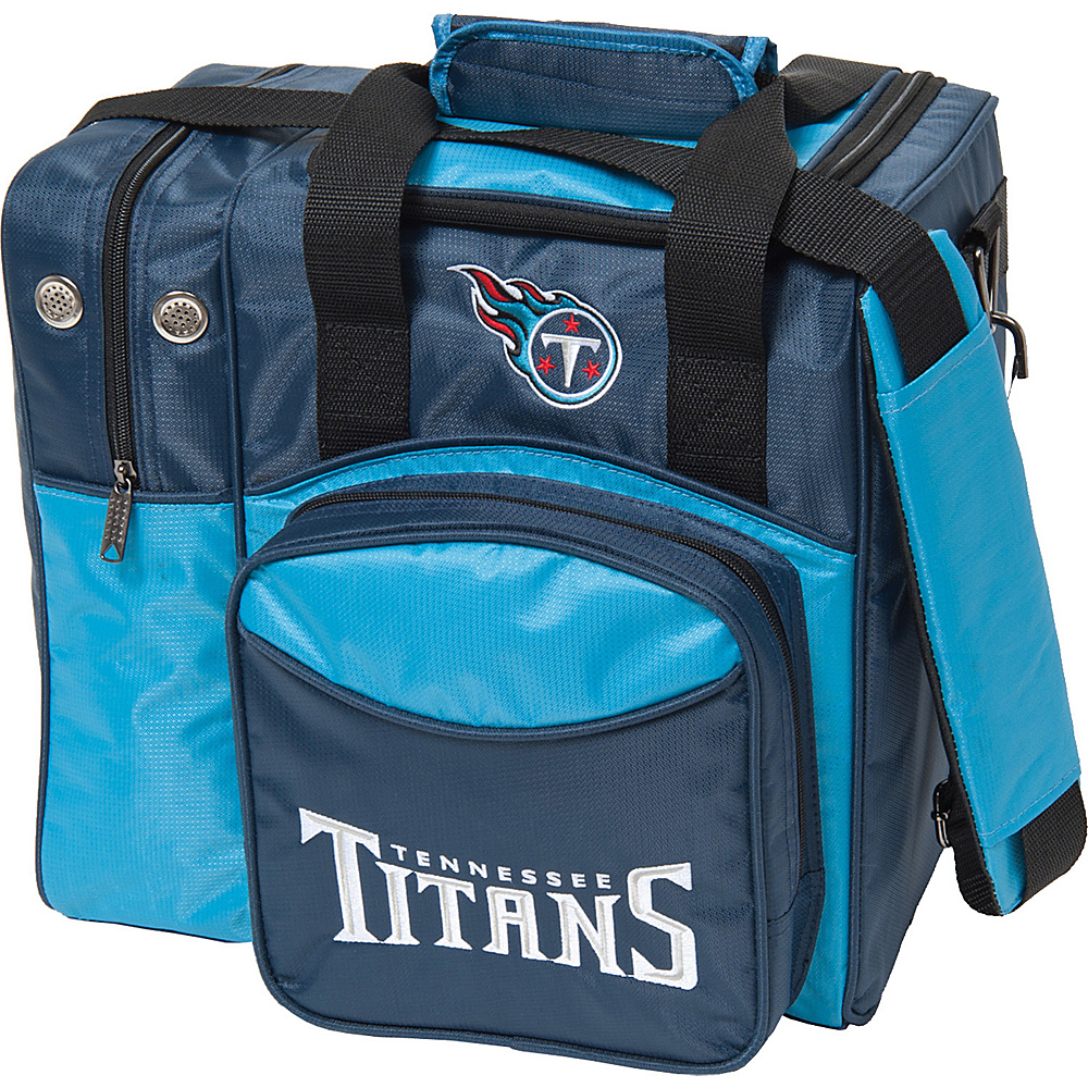 KR Strikeforce Bowling NFL Single Bowling Ball Tote Bag Tennessee Titans KR Strikeforce Bowling Bowling Bags