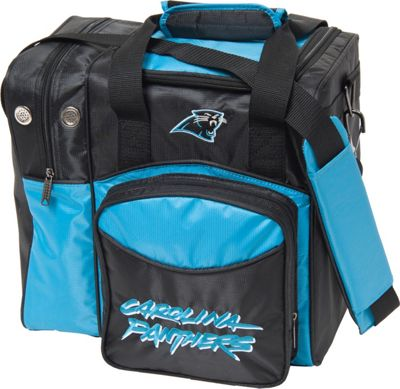 KR Strikeforce Bowling NFL Single Bowling Ball Tote Bag Carolina Panthers - KR Strikeforce Bowling Bowling Bags