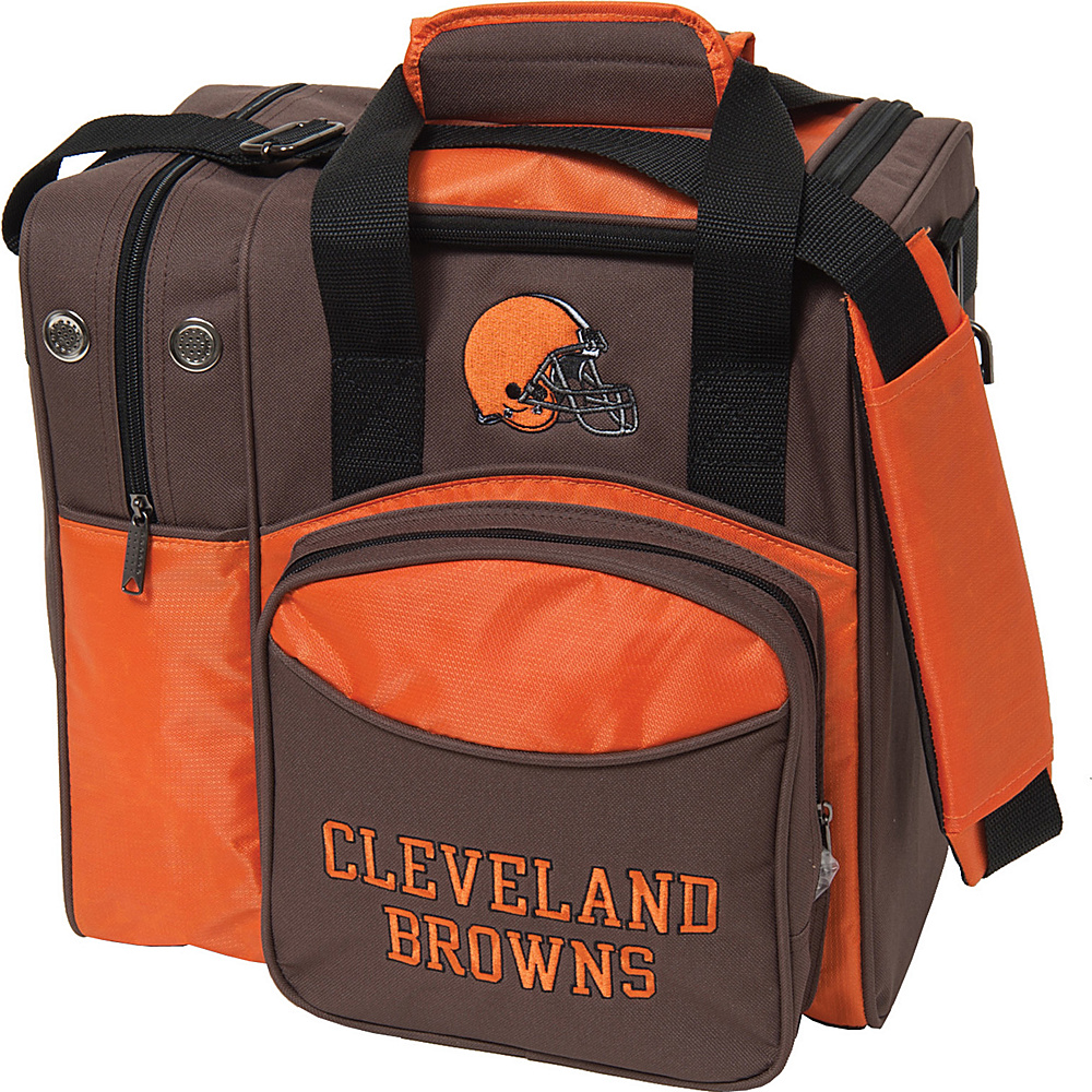 KR Strikeforce Bowling NFL Single Bowling Ball Tote Bag Cleveland Browns KR Strikeforce Bowling Bowling Bags