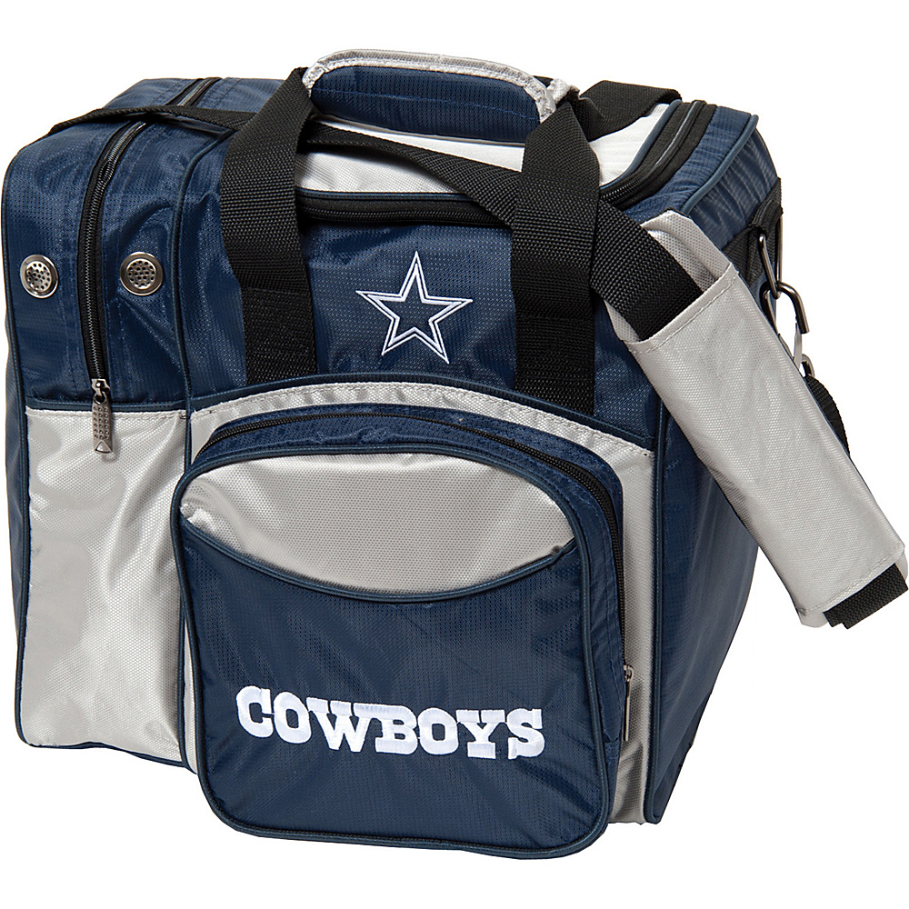 KR Strikeforce Bowling NFL Single Bowling Ball Tote Bag Dallas Cowboys KR Strikeforce Bowling Bowling Bags