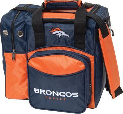 KR Strikeforce Bowling NFL Single Bowling Ball Tote Bag Denver Broncos - KR Strikeforce Bowling Bowling Bags