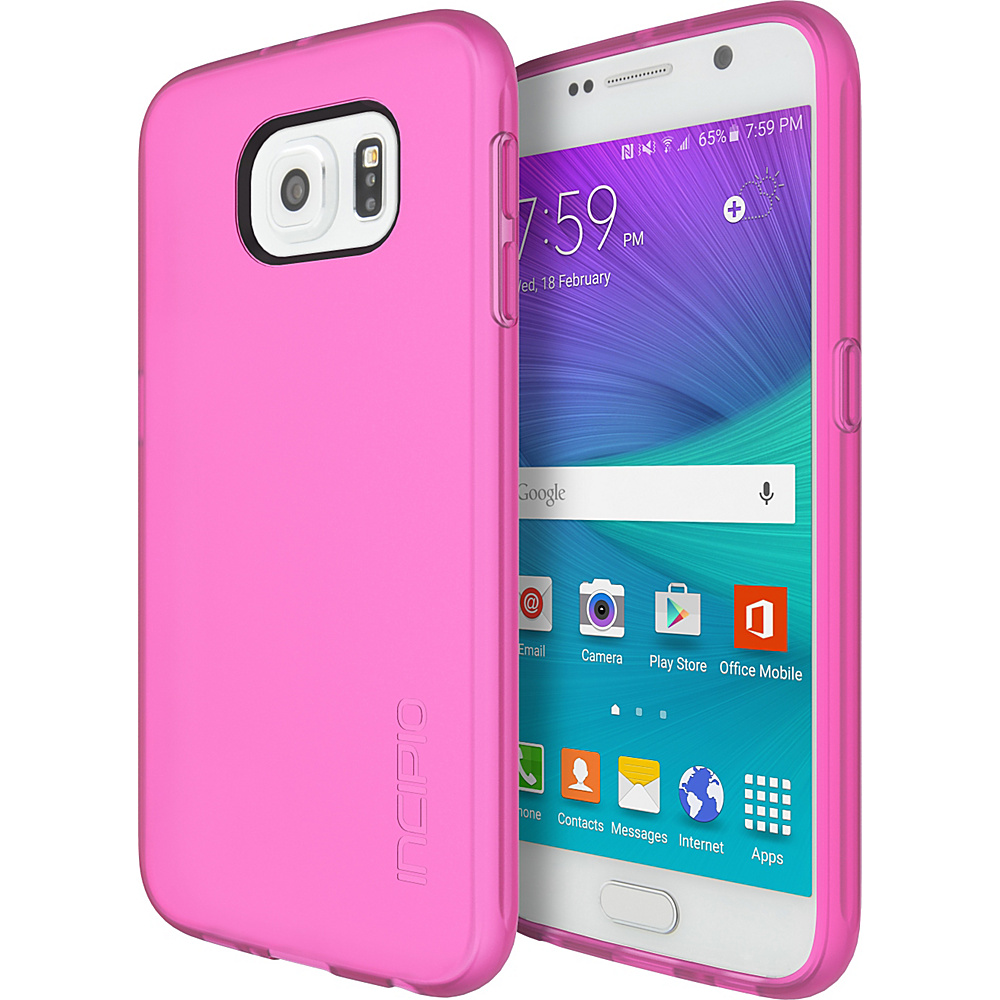 Incipio NGP for Samsung Galaxy S6 Translucent Neon Pink - Incipio Electronic Cases - Technology, Electronic Cases