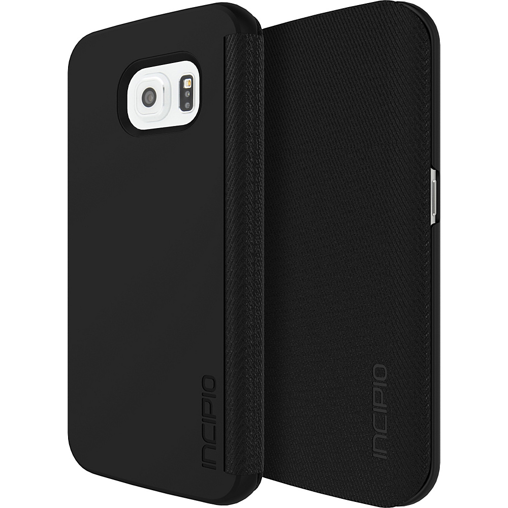 Incipio Lancaster for Samsung Galaxy S6 Edge Black - Incipio Electronic Cases - Technology, Electronic Cases