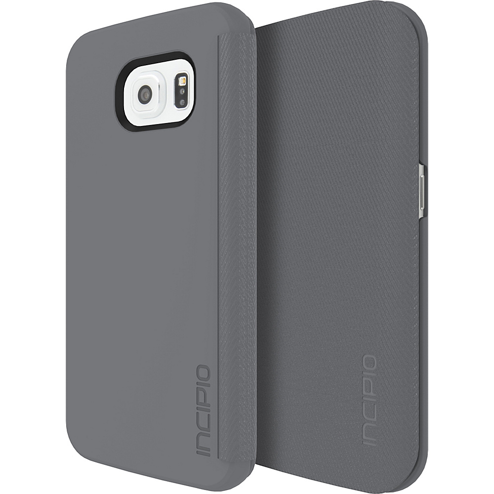 Incipio Lancaster for Samsung Galaxy S6 Edge Gray - Incipio Electronic Cases - Technology, Electronic Cases