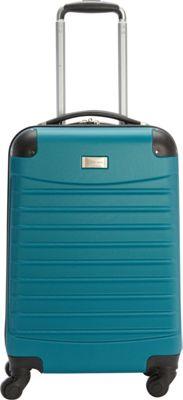 Geoffrey Beene Luggage Geoffrey Beene 20 inch Hardside Vertical Teal - Geoffrey Beene Luggage Hardside Carry-On