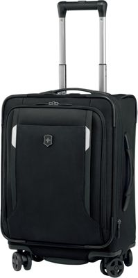 Victorinox Werks Traveler 5.0 WT 20 Dual-Caster Black - Victorinox Softside Carry-On