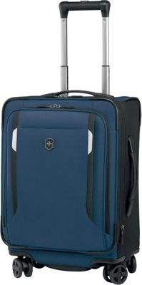 Victorinox Werks Traveler 5.0 WT 20 Dual-Caster Navy Blue - Victorinox Softside Carry-On