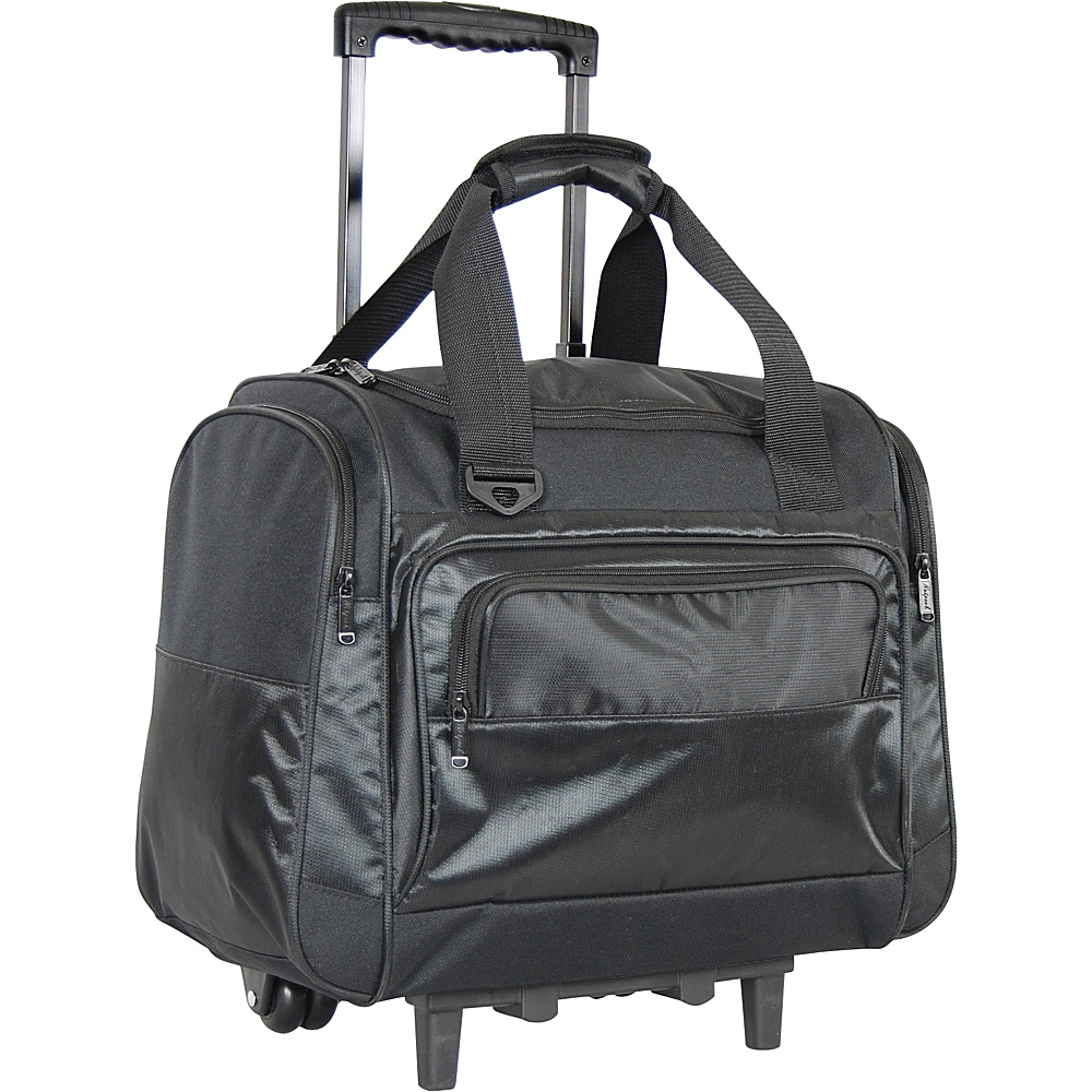 Netpack Carry On Duffel Black Netpack Rolling Duffels