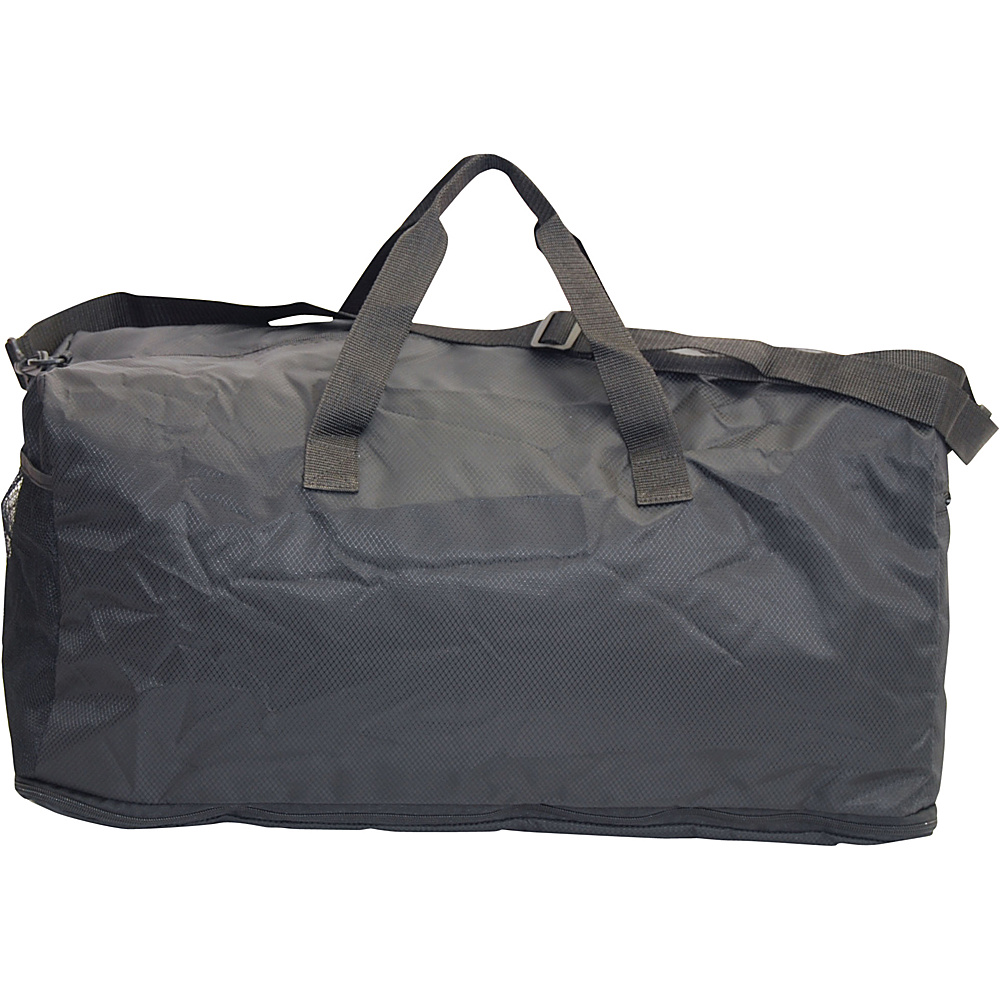 Netpack U Zip Expandable Packable Duffel Black Netpack Rolling Duffels
