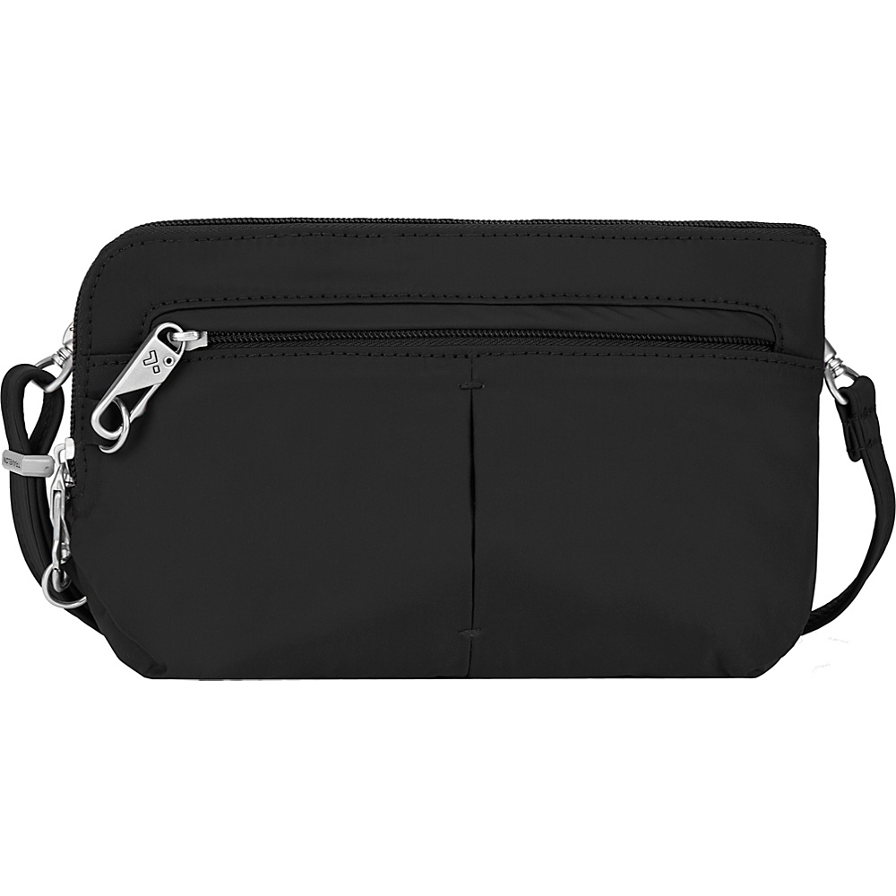 Travelon Anti-Theft Classic Light Convertible Crossbody and Waistpack Black/Gray - Travelon Fabric Handbags - Handbags, Fabric Handbags