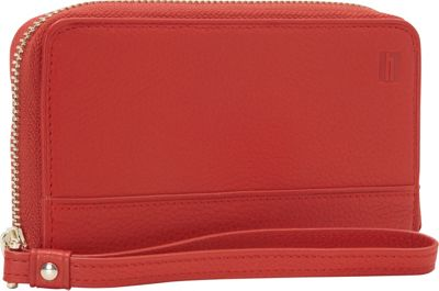 Hartmann Luggage Belle City Wristlet Red - Hartmann Luggage Designer Handbags