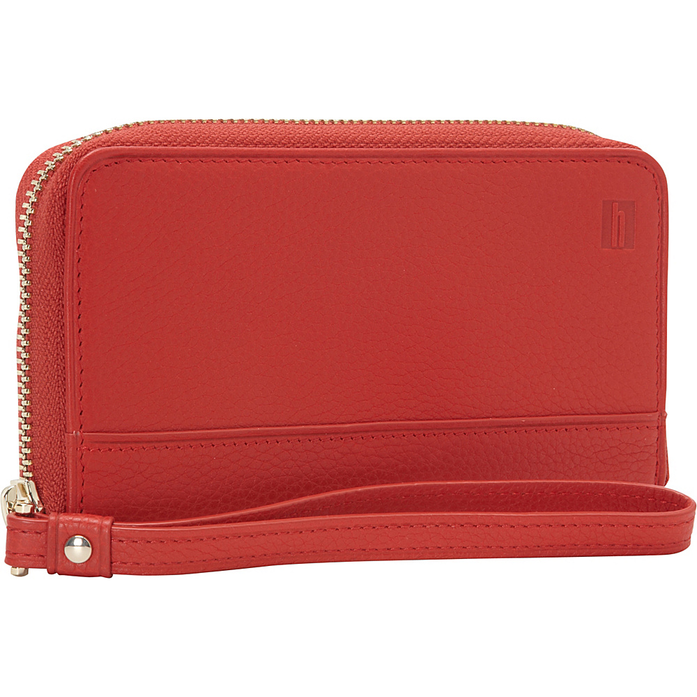 Hartmann Luggage Belle City Wristlet Red Hartmann Luggage Women s Wallets
