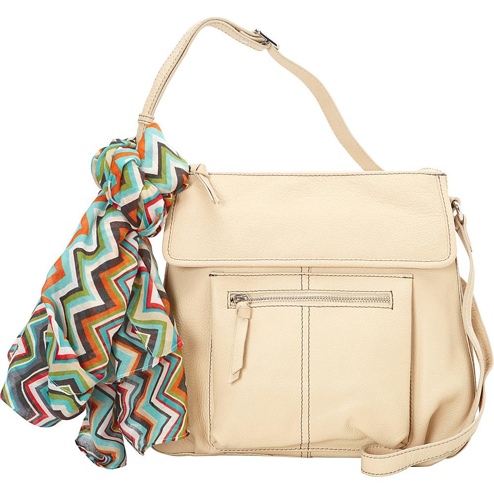Hadaki Tania Crossbody Semolina - Hadaki Leather Handbags - Handbags, Leather Handbags