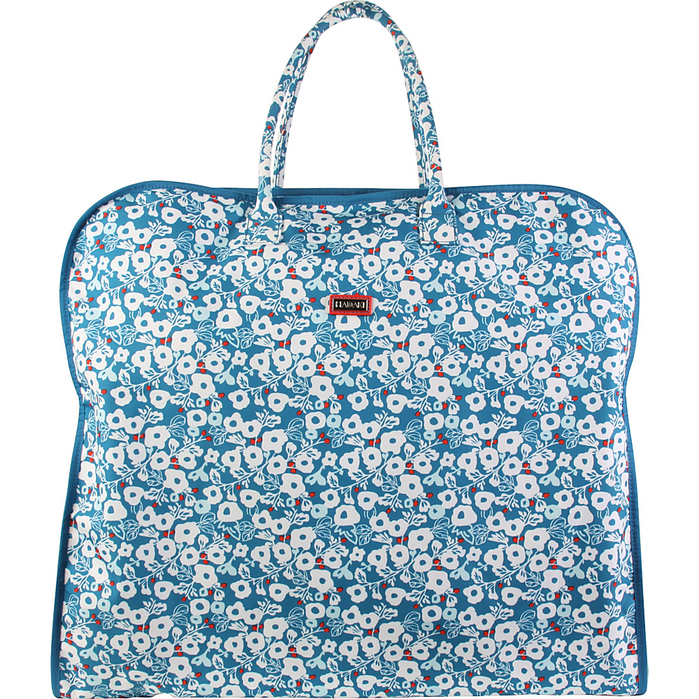 Hadaki Garment Bag Berry Blossom Teal - Hadaki Garment Bags - Luggage, Garment Bags