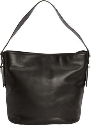 Skagen Karyn Mini Leather Bucket Bag Black - Skagen Leather Handbags