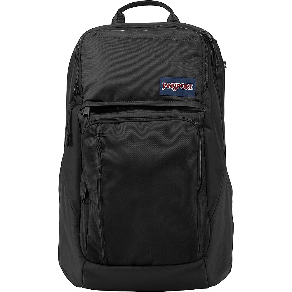 JanSport Broadband Laptop Backpack Black - JanSport Business & Laptop Backpacks