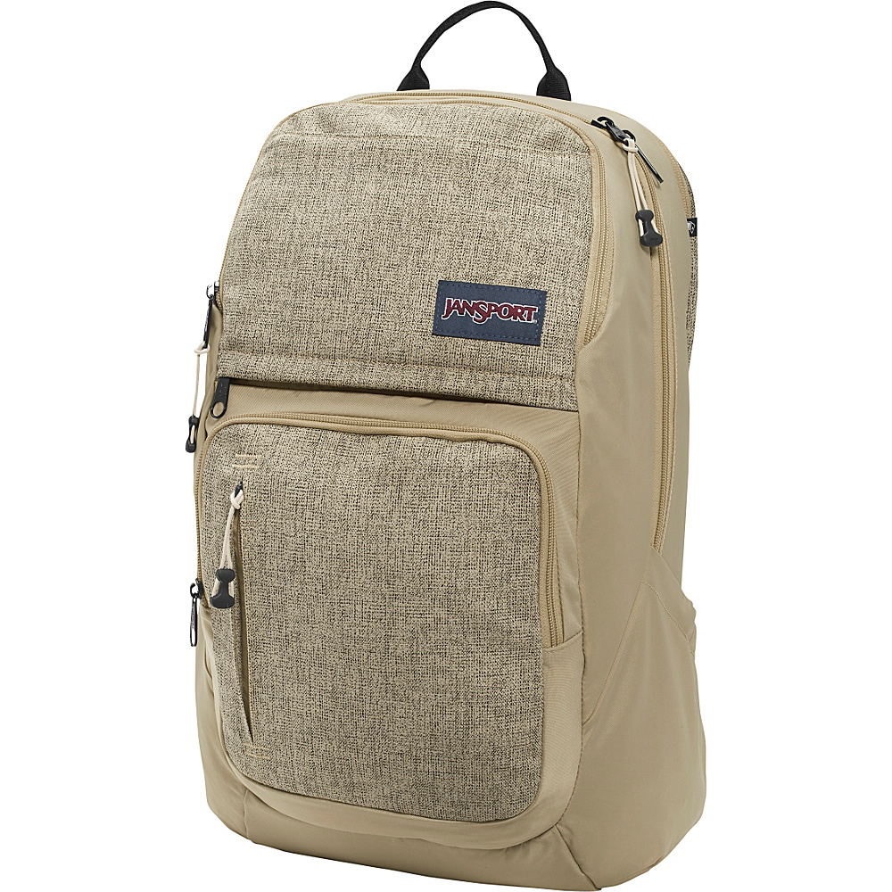 JanSport Broadband Laptop Backpack Desert Beige Static - JanSport Business & Laptop Backpacks