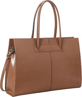 Sharo Leather Bags Women's Genuine Leather Laptop Tote ...