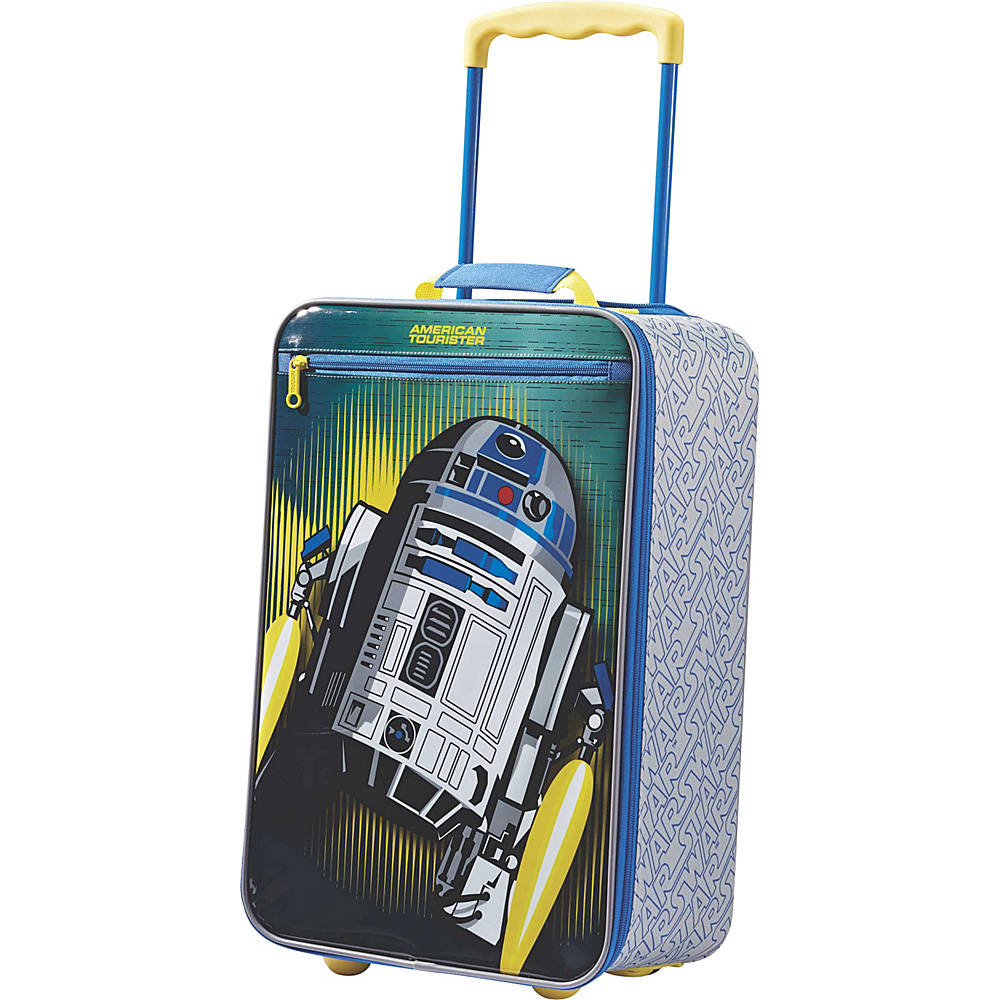 """American Tourister Disney 18"""" Upright Softside Star Wars R2D2 - American Tourister Kids' Luggage"""