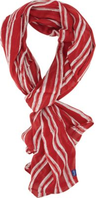Keds Long Poly Print Scarf Rococco Red - Keds Hats/Gloves/Scarves