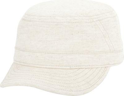 Ben Sherman Stripe Chambray Legion Hat One Size - Stone - Ben Sherman Hats/Gloves/Scarves