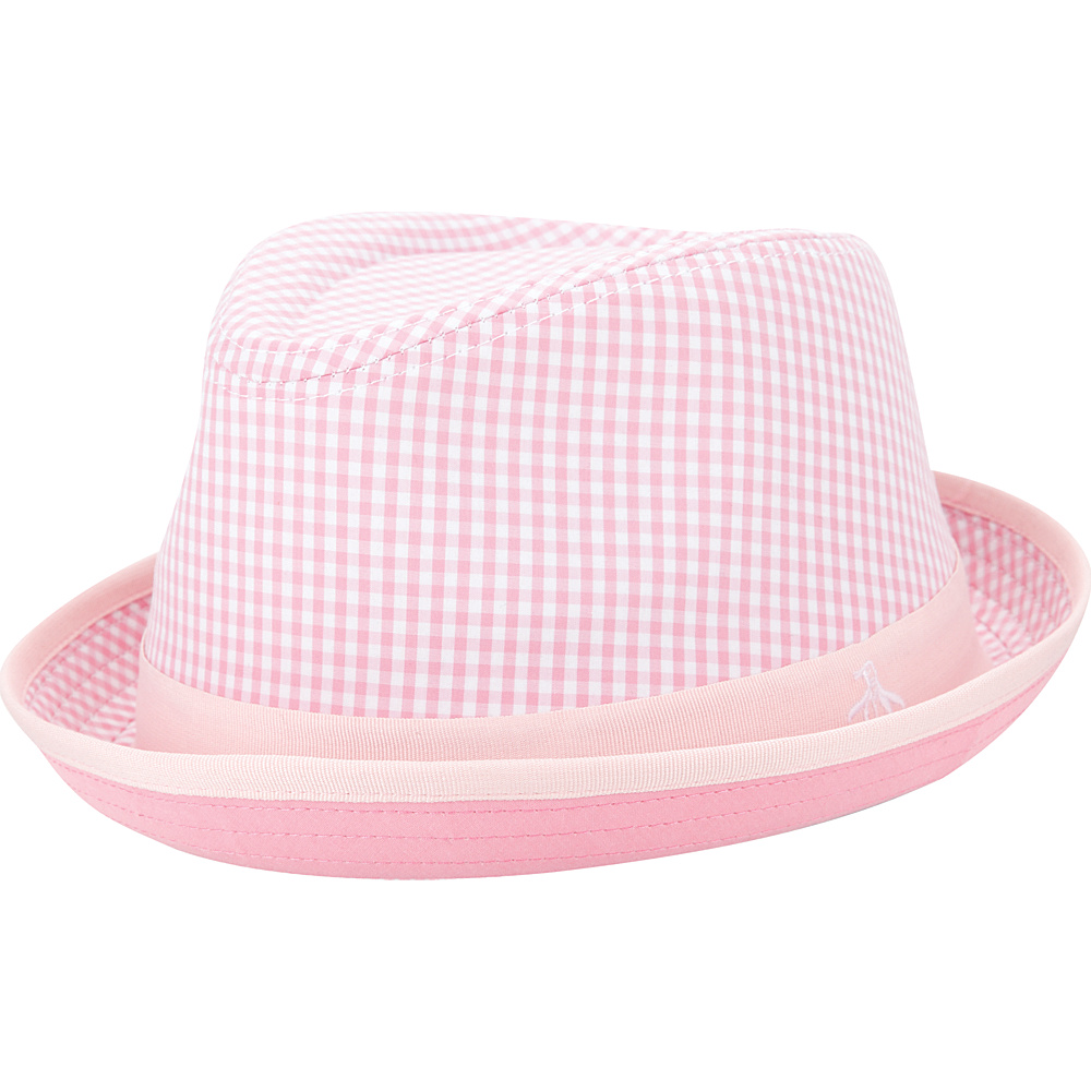 Original Penguin Miramar Fedora Pink Lady Small Medium Original Penguin Hats Gloves Scarves
