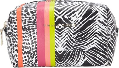 Trina Turk Geo Canyon Cosmetic Bag Woodblock - Trina Turk Ladies Cosmetic Bags