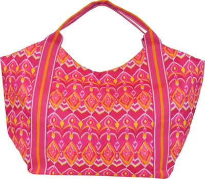 Image of All For Color Beach Tote Sunrise Ikat - All For Color All-Purpose Totes