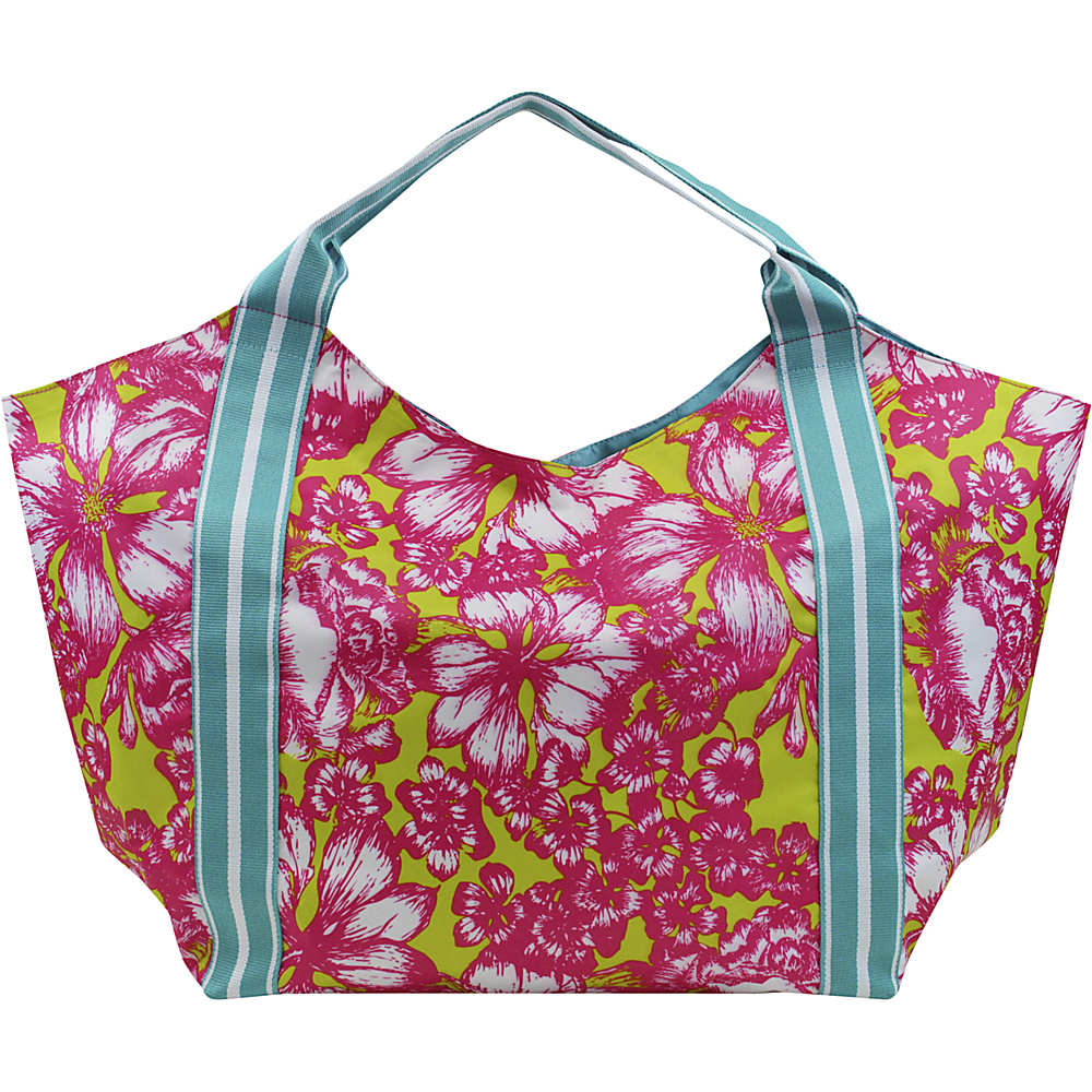 All For Color Beach Tote Aloha Paradise - All For Color Fabric Handbags